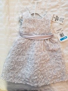 Rare Editions formal dress, 24 mo, NWT